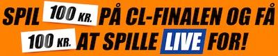 Få en live bet bonus til CHL-Finalen hos Danske Spil