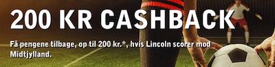 Betsafe Cash-back bonus til FCM - Lincoln