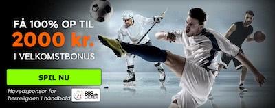 888sport Velkomstbonus