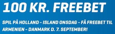 NordicBet Freebet Bonus til EM Kval