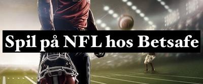 NFL odds konkurrence hos Betsafe
