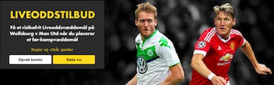 Bet365 Champions League Bonus: Wolfsburg - Man U