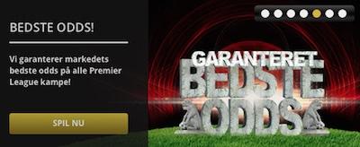 Scandic Bookmakers odds garanti på Premier League