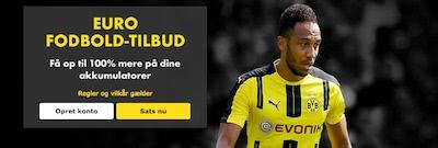 Bet365 Euro fodbold-tilbud