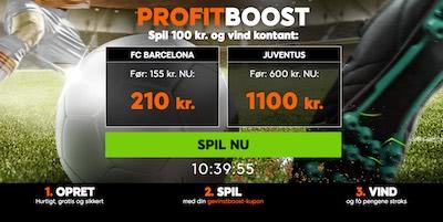 888sport profit boost Barcelona vs Juventus