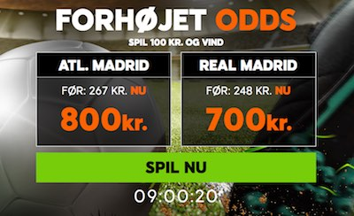 888sport super odds Atletico vs Real