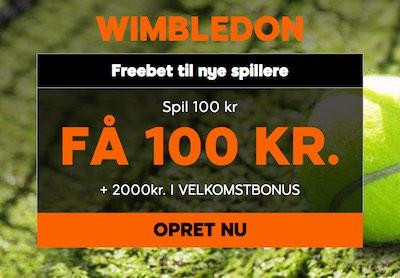 888sport Wimbledon tilbud