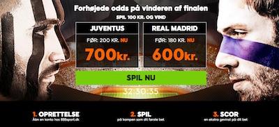 888sport tilbud Champions League finalen