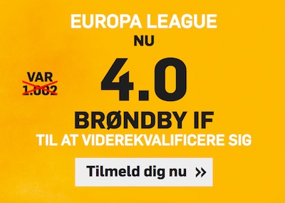 Betfair odds Brondby