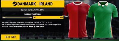 Bwin Price Boost Danmark vs. Ireland