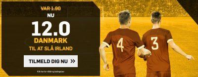Danmark mod Irland Vm playoff