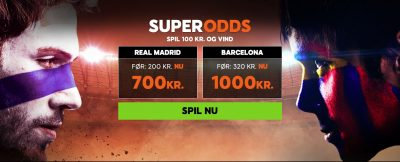 El Clásico Super Odds Real vs. Barcelona