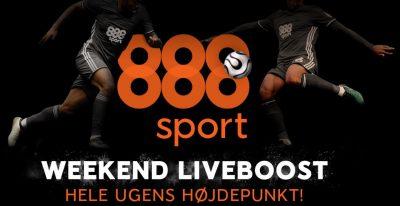 Weekend Liveboost hos 888sport.dk