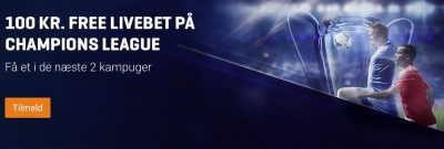 Freebet Nordicbet Champions League