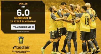 Odds bonus hvis BIF vinder mod Silkeborg