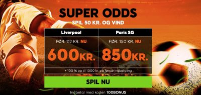 888sport super odds Liverpool vs. PSG