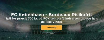 Mr Green bonus FCK Bordeaux