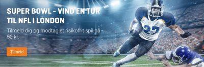 NFL bonus Super Bowl 2019 Nordicbet