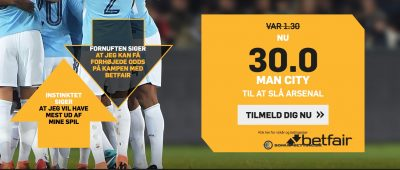 ManCity vs Arsenal betfair