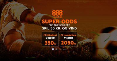 888sport bonus Midtjylland vs Nordsjælland