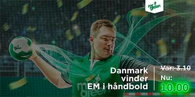 odds boost danmark vinder haandbold em mrgreen
