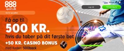 888sport bonuskode 500 back