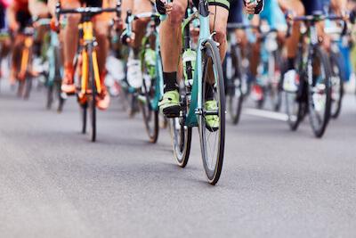 Cykling Stock Photo