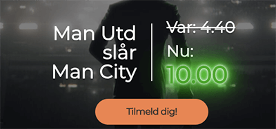 Mr Green oddsboost Manchester United Manchester City