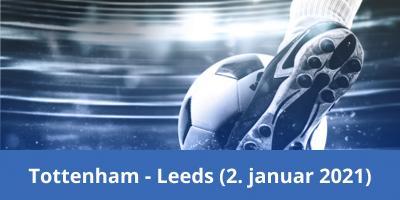 Tottenham vs Leeds, 2. januar 2021