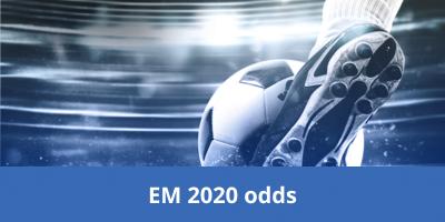 EM 2020 odds og bonus