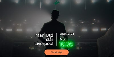 Manchester United odds boost