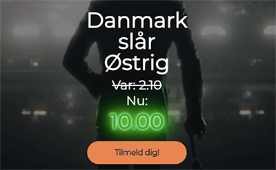 mr green vm kvalifikation odds boost danmark ostrig