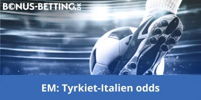 Tyrkiet - Italien odds EM