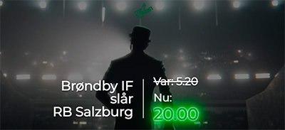Brondby - Salzburg odds bonus Mr. Green